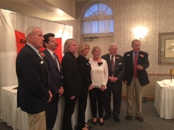 Honorees: Fred Machemer, Gary Ginsberg, Tom Hambridge, Anne Harding,Joyce, Nancy Riccio, Dr. John Schriver and Ken Butka