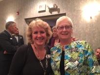 Sue Hens Smith and Mrs. Bob Martin