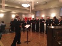 Rosemary Dayton conducting Alumni Chorale