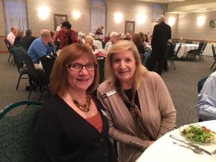 Marilyn Rohl and Cindy Diem