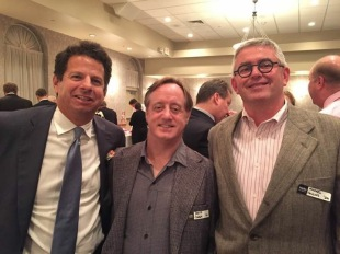 Gary Ginsburg (honored) '80 & David Cohen and Michael Collins Class of 79